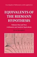 Equivalents of the Riemann Hypothesis 2 Hardback Volume Set