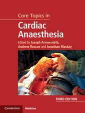 Core Topics in Cardiac Anaesthesia