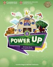 Power Up Level 1 Activity Book with Online Resources and Home Booklet