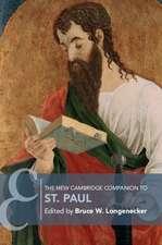 The New Cambridge Companion to St Paul