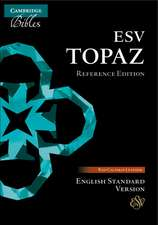 ESV Topaz Reference Edition, Cherry Red Calfskin Leather, ES675:XR