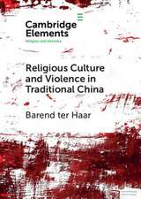Religious Culture and Violence in Traditional China