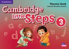 Cambridge Little Steps Level 3 Phonics Book American English