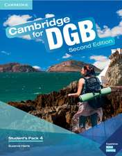 Cambridge for DGB Level 4 Student's Pack