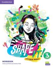 Shape It! Level 3 Workbook
