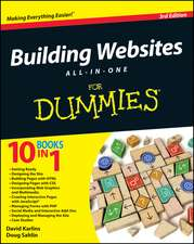 Building Websites All–in–One For Dummies