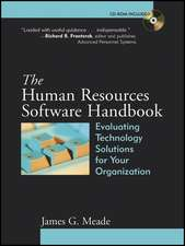 The Human Resources Software Handbook: Evaluating Technology Solutions for Your Organization