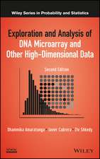 Exploration and Analysis of DNA Microarray and Other High–Dimensional Data