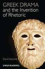 Greek Drama and the Invention of Rhetoric