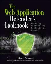 Web Application Defender′s Cookbook