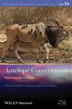 Antelope Conservation: From Diagnosis to Action