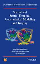 Spatial and Spatio–Temporal Geostatistical Modeling and Kriging