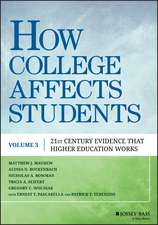 How College Affects Students: 21st Century Evidence that Higher Education Works