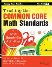 Teaching the Common Core Math Standards with Hands-On Activities, Grades 3-5:  Strategies to Deepen Content Knowledge