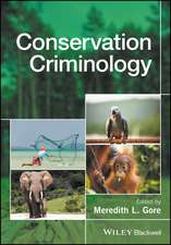Conservation Criminology
