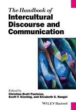 Handbook of Intercultural Discourse and Communication