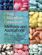 Drug Utilization Research: Methods and Applications