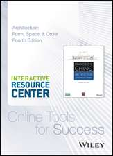 Architecture:  Form, Space, and Order, Fourth Edition Interactive Resource Center Access Card