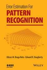 Error Estimation for Pattern Recognition