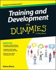 Training & Development For Dummies