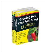Self–sufficiency For Dummies Collection – Growing Your Own Fruit & Veg For Dummies/Keeping Chickens For Dummies UK Edition