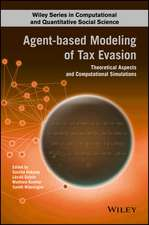 Agent–based Modeling of Tax Evasion: Theoretical Aspects and Computational Simulations