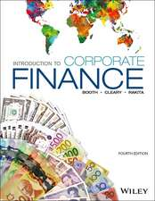 Introduction to Corporate Finance, 4th Edition
