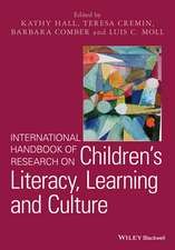 International Handbook of Research on Children′s Literacy, Learning and Culture