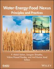 Water–Energy–Food Nexus