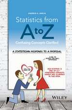 Statistics from A to Z: Confusing Concepts Clarified
