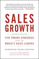 Sales Growth: Five Proven Strategies from the World′s Sales Leaders
