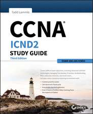 CCNA ICND2 Study Guide: Exam 200–105