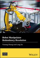 Robot Manipulator Redundancy Resolution