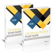 Wiley Study Guide for 2018 CFP Exam: Complete Set