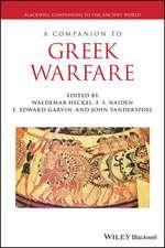 A Companion to Greek Warfare