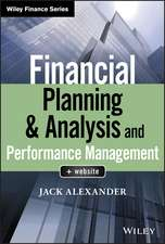Financial Planning & Analysis and Performance Management