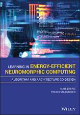 Algorithms and Architectures for Learning in Energy–Efficient Neuromorphic Computing