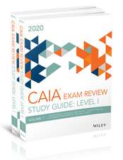 Wiley Study Guide for March 2020 Level l CAIA Exam: Complete Set (Print)