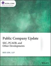 Public Company Update: SEC, PCAOB, and Other Developments