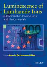 Luminescence of Lanthanide Ions in Coordination Compounds and Nanomaterials