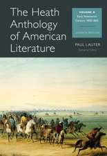 The Heath Anthology of American Literature, Volume B:  1800-1865