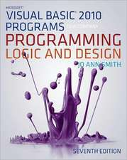Microsoft Visual Basic Programs T/A Program Logic & Design