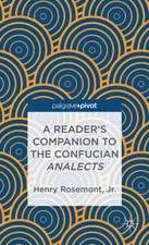A Reader's Companion to the Confucian Analects