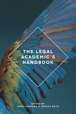 The Legal Academic's Handbook