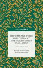 Reform and Price Discovery at the Tokyo Stock Exchange: From 1990 to 2012