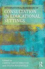 International Handbook of Consultation in Educational Settings