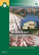 Air and Environmental Quality in Livestock and Agricultural Buildings