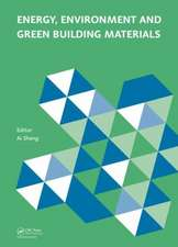 Energy, Environment and Green Building Materials