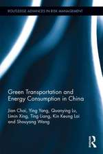 Green Transportation and Energy Consumption in China