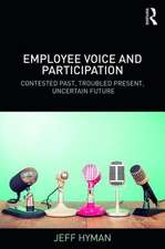 EMPLOYEE VOICE AND PARTICIPATION H